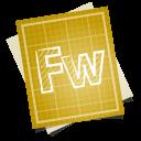 adobe blueprint fireworks icon