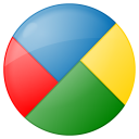 social google buzz button icon