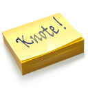 App knotes sticker icon
