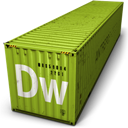 Container, Dreamweavar icon