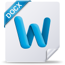 Docx, File, Mac, Microsoft, Word icon