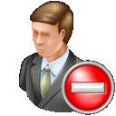 delete, administrator icon