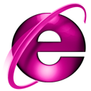 ie7,pink icon