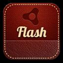 Flash, Retro icon