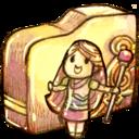 folder,heroine icon