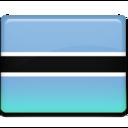 botswana,flag,country icon