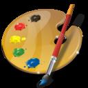 palette, web design, art icon