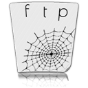 ftp, file, paper, document icon