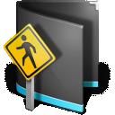 Public Folder Black icon