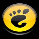 round, gnome, here, circle, start icon