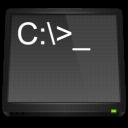 dos, ms, terminal, command icon