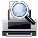 file, preview, paper, document, printer, print icon