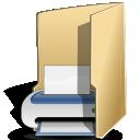 print, folder icon