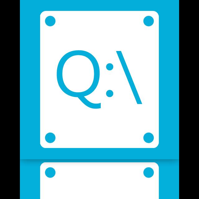 q, mirror icon