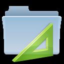 project, folder, badged icon