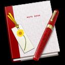 Book, Bookmark, Note icon