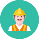 road worker icon