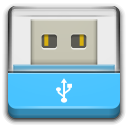 Devices drive removable media usb icon
