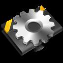 developer, black icon