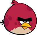 angry birds, red bird icon