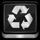 Metallic, Recycle icon