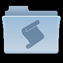 script, folder icon