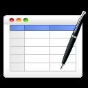Edit, Table icon