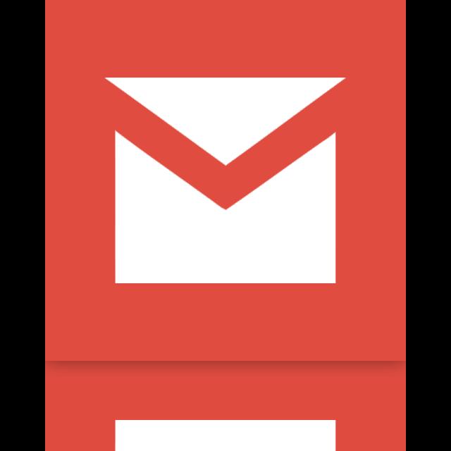 mirror, gmail icon