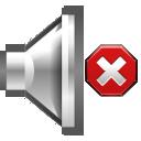 volume, muted, audio icon