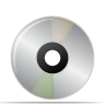 dvd, disc, cd icon