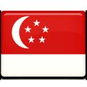 singapore, flag icon