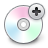 cdplus,add,cd icon