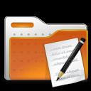 write, folder, paper icon