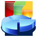 analytics, statistics, chart, pie, diagram icon