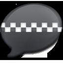 iChat Black Taxi icon