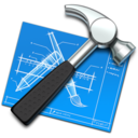 xcode,hammer,tool icon
