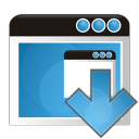 application arrow down icon