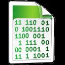 system, binary icon