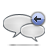 reply, comment, response icon