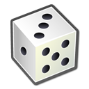 dice, games, package, board icon