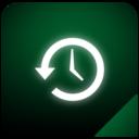timemachine,glow icon