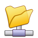 Folder, Network icon