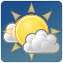 few, climate, sun, cloud, weather icon