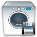 Machine, Save, Washing icon