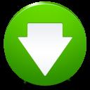 decrease, descend, descending, fall, download, down icon