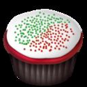 christmas,cupcake icon