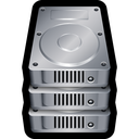 stack, database, hard, drive, disk, storage icon