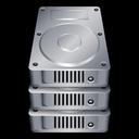 stack, database, hard, drive, disk, storage icon