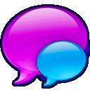 Balloon, Blue, Small icon