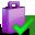 accept, shoppingbag icon
